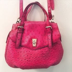 Marc Jacobs Ozzie Aurora Rock Lobster Ostrich Bag